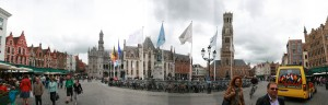 Quick stitch panorama of Markt