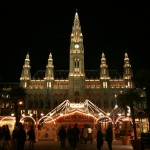 Rathaus with circus