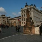 Prague Castle front gates