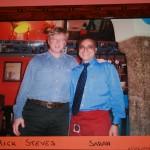 Rick Steves at Saran (named after the owner)