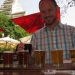 Beer sampler at Bullers