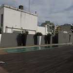Our rooftop swimming pool