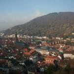 View of town from Heidelberger Schloss