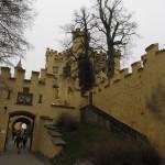 Main gate of Hohenschwangau
