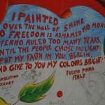 Berlin Wall graffiti II