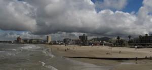 Piriápolis beach
