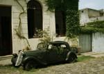 Classic Car Flowerpot