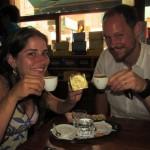 Coffee and Alfajor